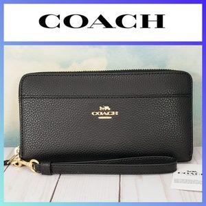COACH Accordion Zip Wallet Wristlet
